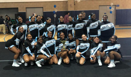 Carson Complex Cheer - 3rd Place League Championship Great Job Squad!